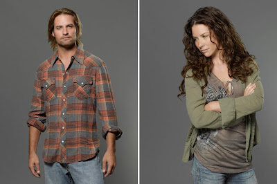 Lost The Final Season - Josh Holloway as James Sawyer Ford & Evangeline Lilly as Kate Austen