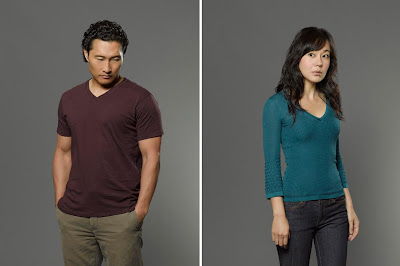 Lost The Final Season - Daniel Dae Kim as Jin Kwon & Yunjin Kim as Sun Kwon