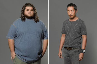 Lost The Final Season - Jorge Garcia as Hugo Hurley Reyes & Ken Leung as Miles Straume