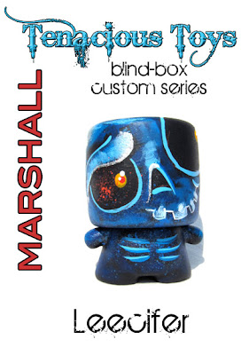 Tenacious Toys Marshall Blind Box Custom Series - Skeleton Custom Marshall Vinyl Figure by Leecifer