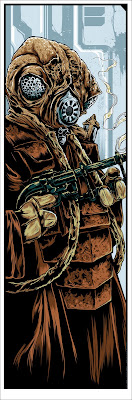 "Mondo Star Wars Screen Print Series #7 - Bounty Hunters Wave 1 ""Zuckuss"" by Ken Taylor"