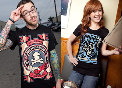 Johnny Cupcakes Black Friday 2010 Releases - Brotherhood of Bakers & 24 Hour Diner T-Shirts