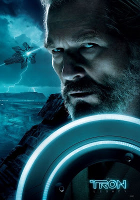 TRON: Legacy Movie Poster Triptych - Jeff Bridges as Kevin Flynn