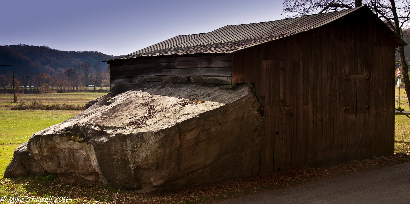 Walking On Empty Barn Rock Barn Mendota Va