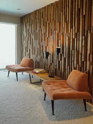 Rhan vintage mid century modern blog palm springs a - Modern wood wall paneling ...