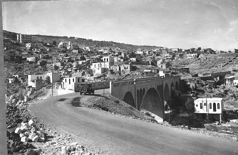 """Rushemia"" bridge in the 30's"