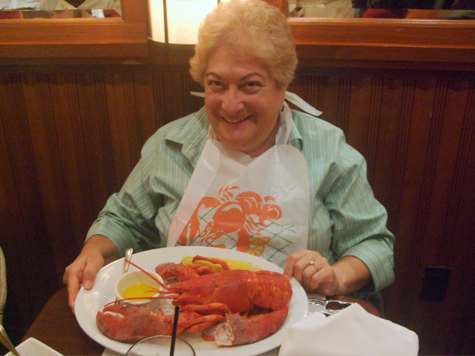 merle's whirls let them eat lobster