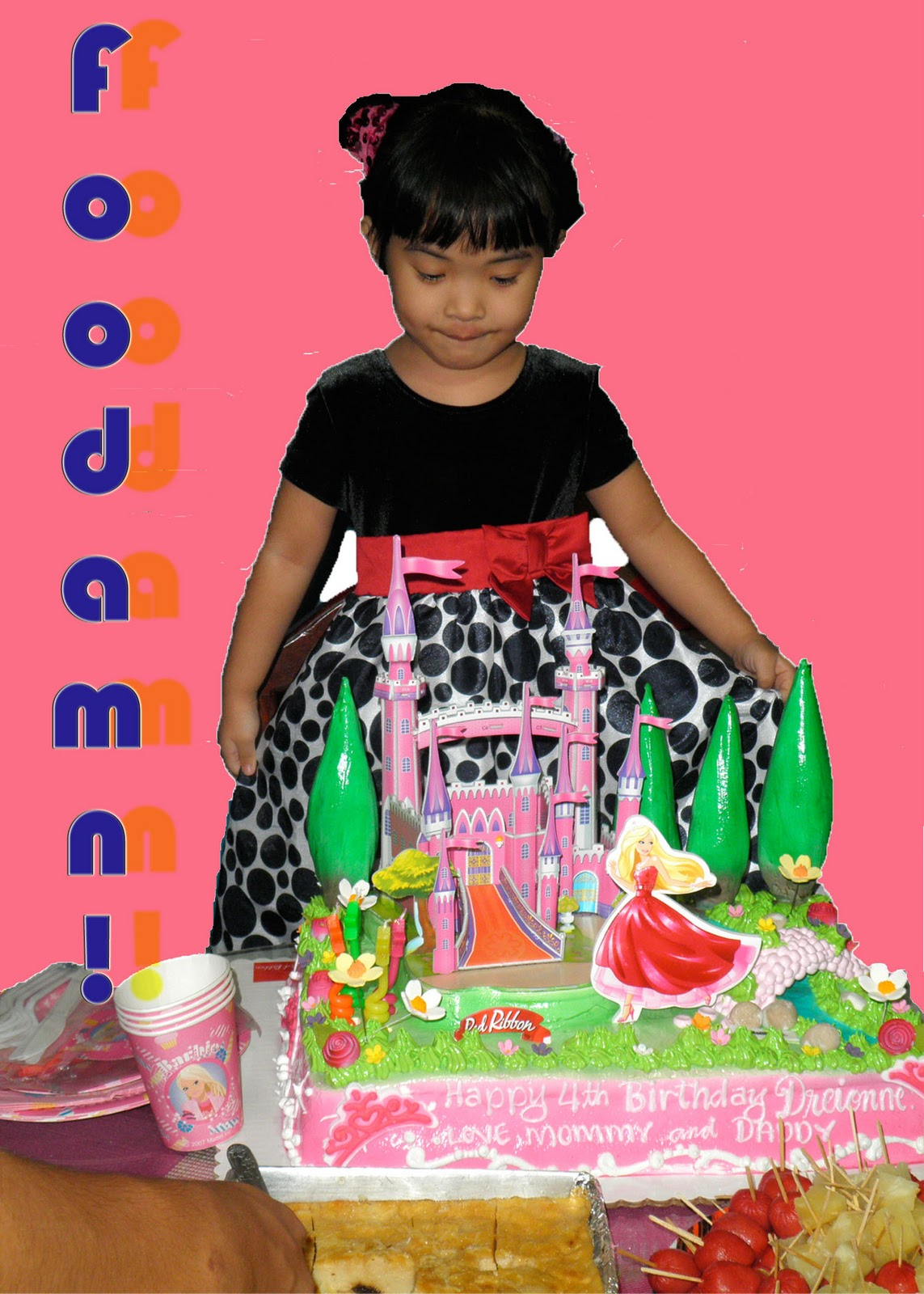 Foodamn Philippines 3d Barbie Cakes At Red Ribbon