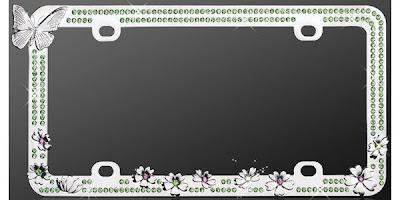 clever license plate frames