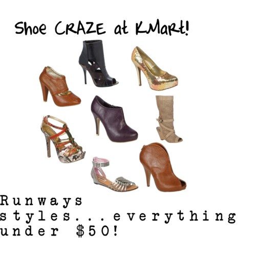 e2466f647755 ... shoe selection at KMart and I had to share! Don't miss out! I  OFFICIALLY want all of the below!:) There are styles for every season  available right now…