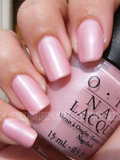 Nail Juice: OPI Suzi & The Lifeguard