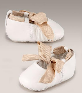 Wedding Ballet Shoes Ivory