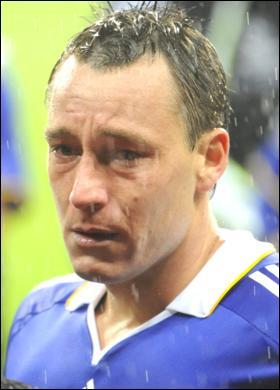 John Terry crying
