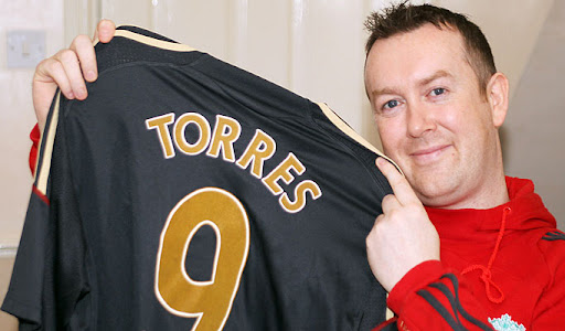 Liverpool fan Shaun McCormark who changed his name to Fernando Torres
