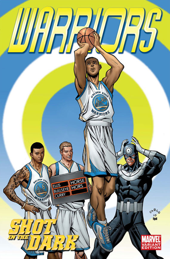 da spot espn x marvel comics � nba team covers