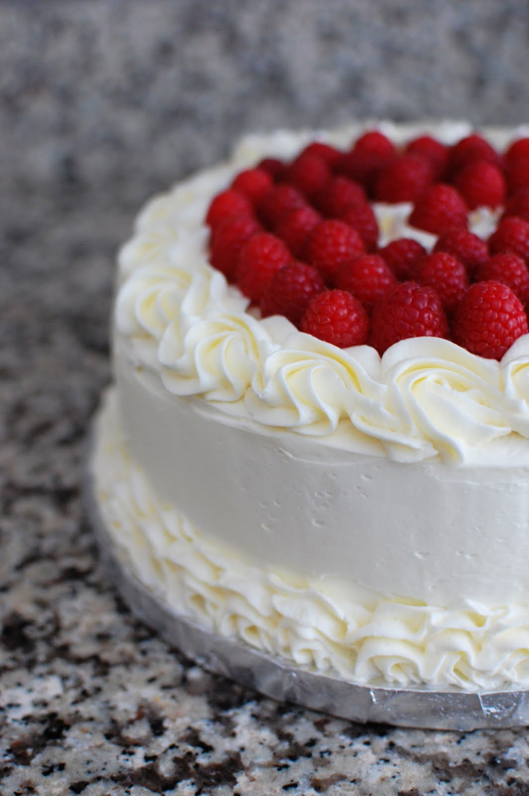 Lemon Raspberry Layer Cake Beantown Baker
