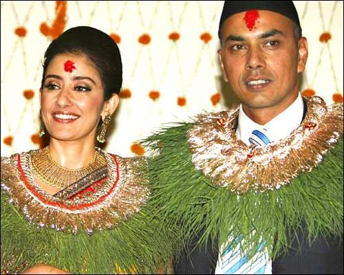 Manisha Koirala Marriage Pics Pictures Photos News 2010