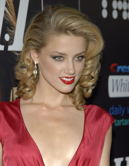 Amber Heard 2010 Short Classic Hairstyles For Girls
