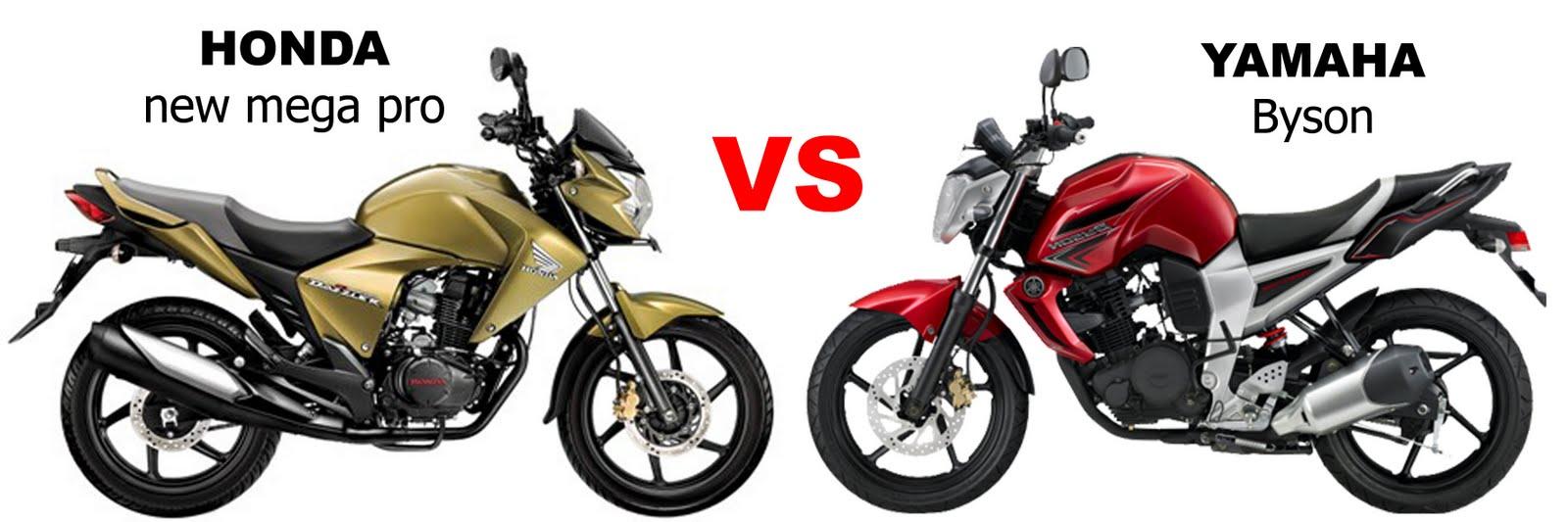 Adu Tangguh Yamaha Byson Vs Honda New Megapro