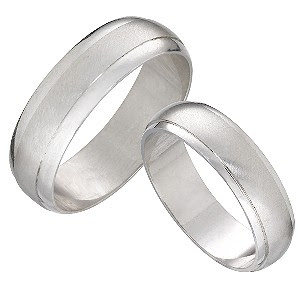 Platinum Wedding Ring Sets For Bride And Groom Video