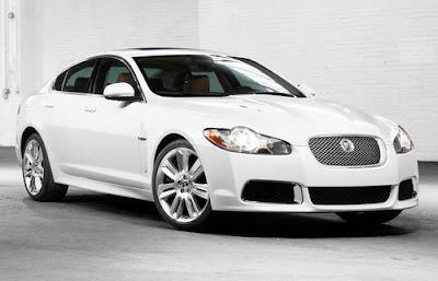 different car models: jaguar xf-r 2010