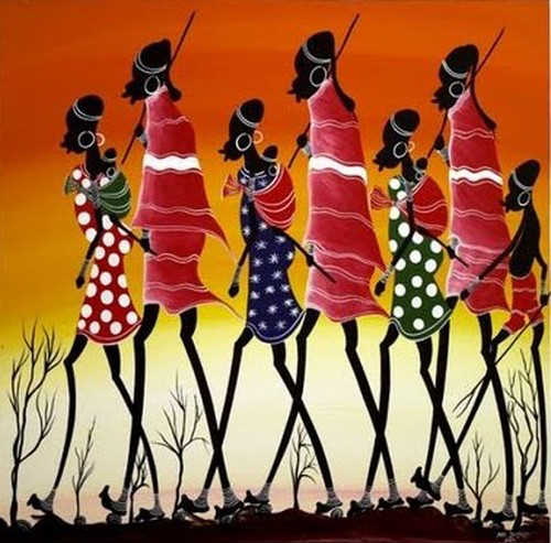 BoldMail: African Art Paintings