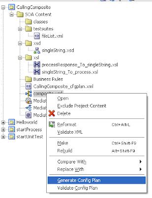Java / Oracle SOA blog: Web service references and Soa
