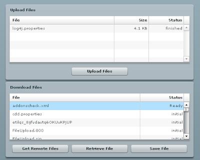 Java / oracle soa blog: flex upload and download with blazeds.