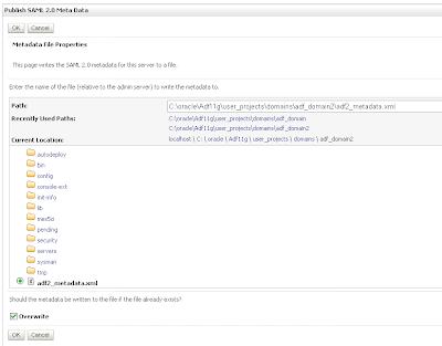 Java / Oracle SOA blog: SSO with WebLogic 10 3 1 and SAML2