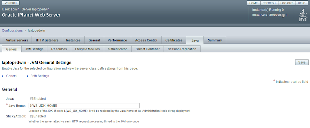 Using the oracle iplanet web & proxy server for fmw ( reverse.