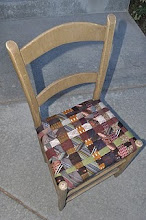 Tie-One-On Halloween/Fall Tie Chair
