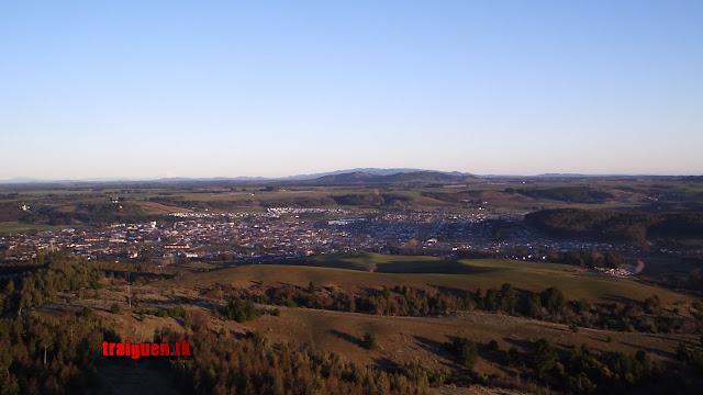 Vista Panorámica de la ciudad de Traiguén
