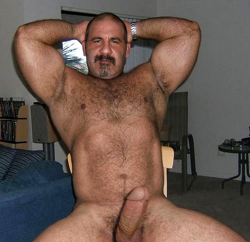 Bear gay man mature