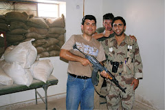 Uzunov in Iraq 2005
