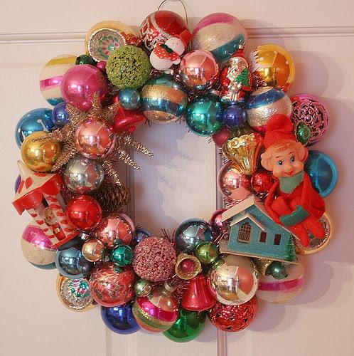 Nostalgic Christmas Decorations: Kitsch 'n Stuff: Kitschy Thrifty Retro