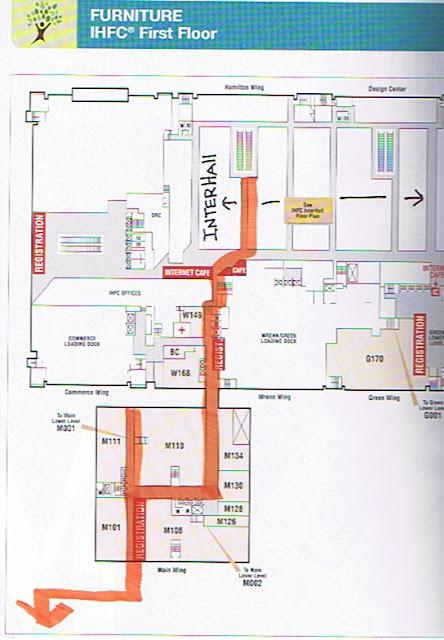 Dovecote Decor Navigating High Point Furniture Market