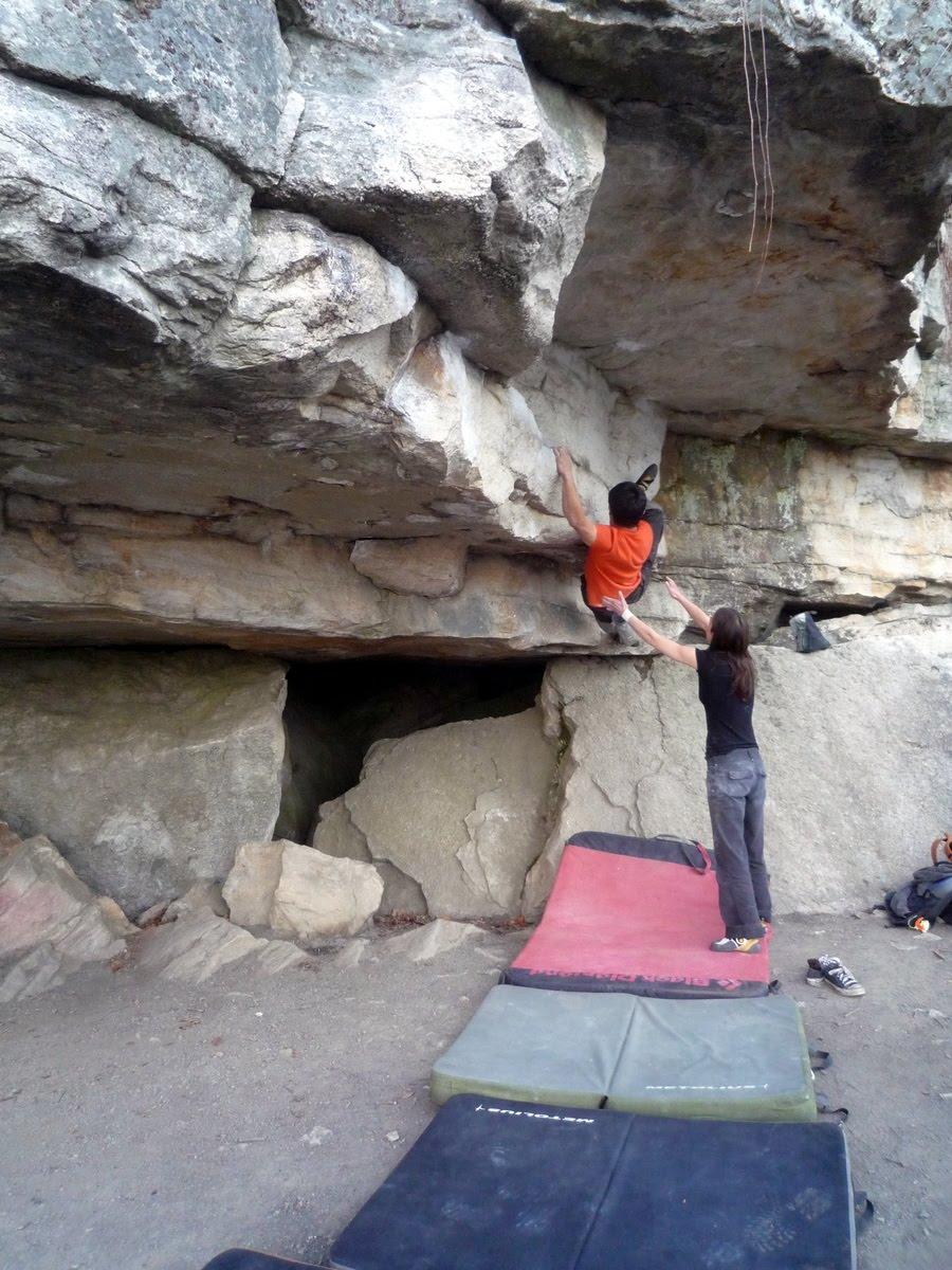 Boulder Across America Gunks Bouldering