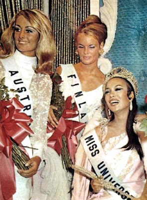 REMEMBERING PHILIPPINES' 1st MISS UNIVERSE:GLORIA DIAZ W/VID