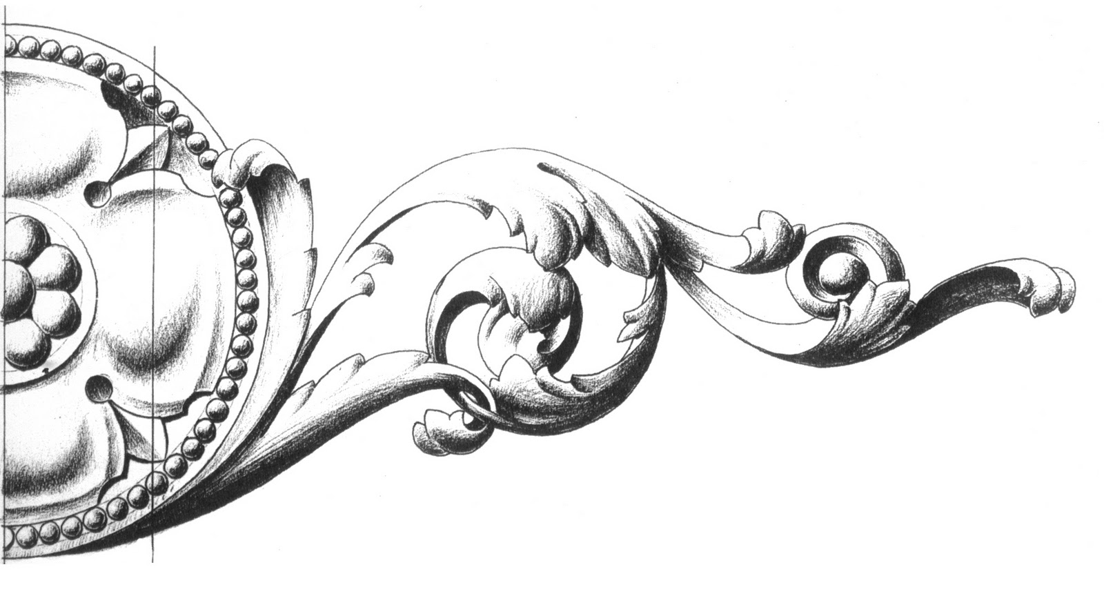 Victorian Gothic Furniture Ornament Drawings By Surface Fragments 2