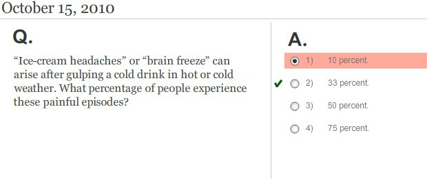 Williams Instructional Design, LLC: NYT Weekly Health Quiz: