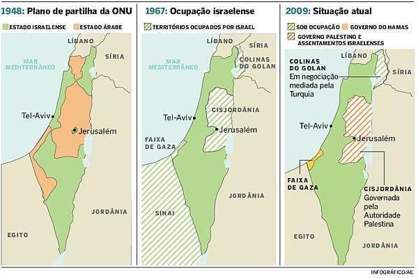 palestina e israel mapa História UPF: Brasil reconhece Estado palestino fronteira pré 1967 palestina e israel mapa