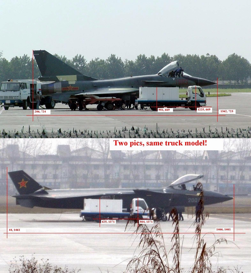 The Latest Clear Pics of J20 And Its Length ~ INDIAN DEFENSE