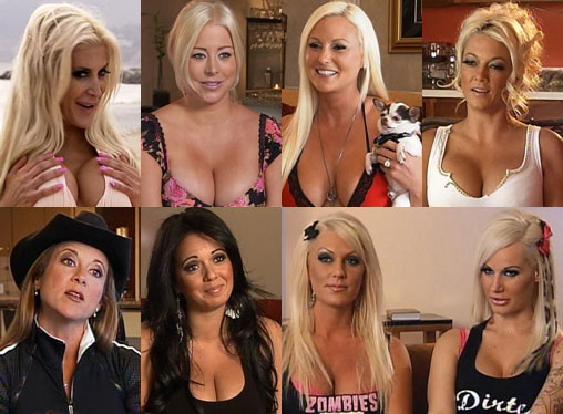 Brandi C Ashley Farrah Rodeo Brittany Starr And Megan Did A Special Interview With Vh Com Rock Of Love Girls Where Are They Now Aired Last Night