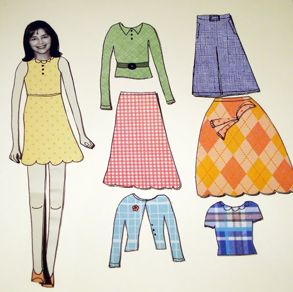 Claudine Hellmuth Surprised Me With My Own Paper Doll Set Ive Been Wanting To Order A From Her Ever Since She Launched The