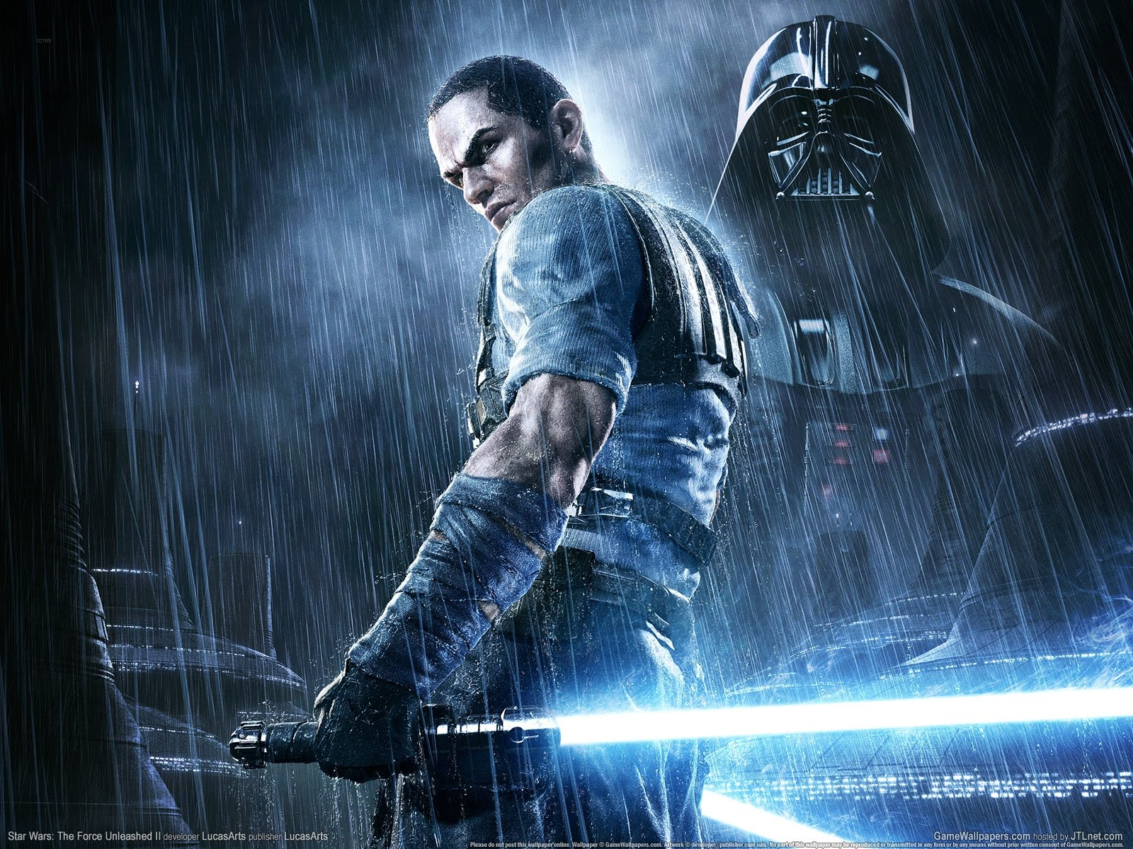 Star Wars The Force Unleashed 2 Wallpapers: DARK RED GAMES: Start Wars Force Unleashed 2