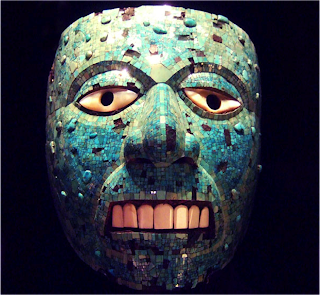 aztec mask template - art 12a post 3 aztec masks