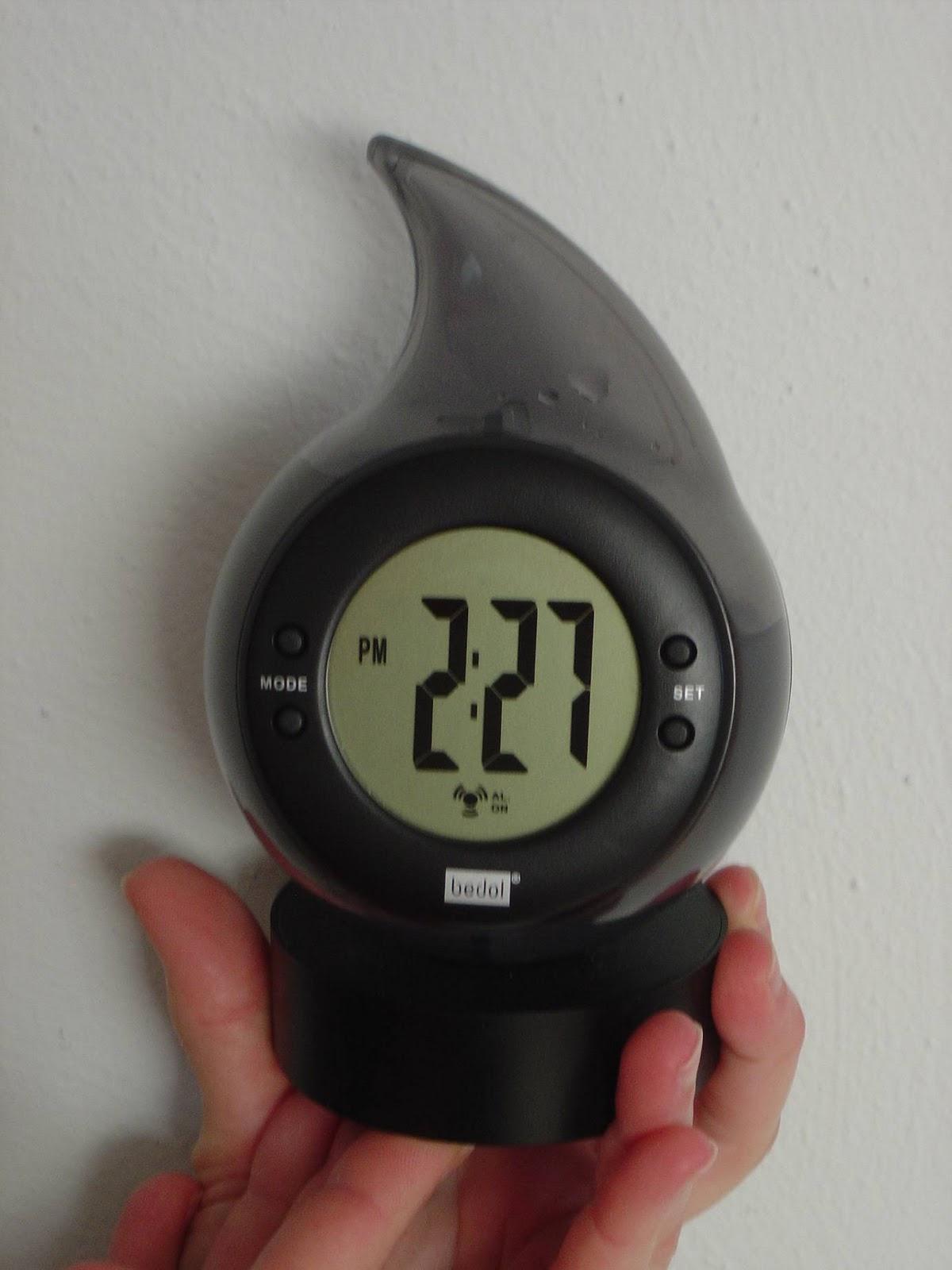Water-Powered Alarm Clock