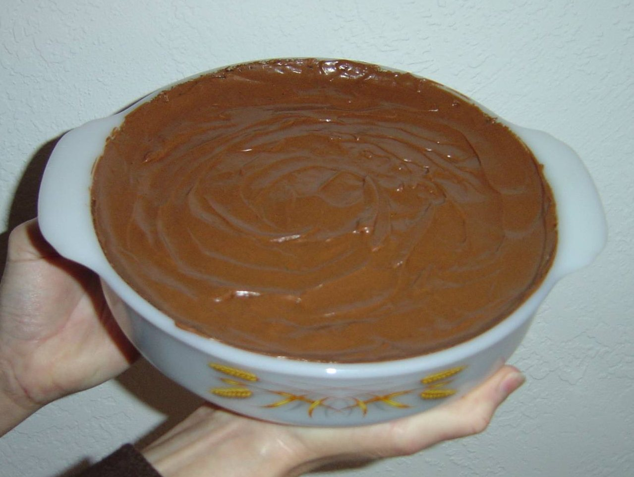 five-minute-microwave chocolate cake unbaked