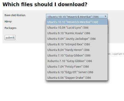 Apt-Web: Cari Tahu Dependency Paket yang Harus di-Download