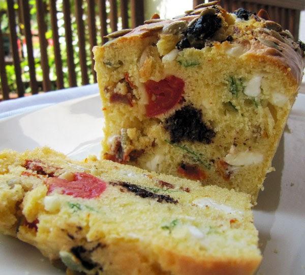 Cake Feta Tapenade Jambon
